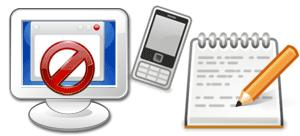 エラーメッセージは携帯写メで記録!、PCcanサービスのイメージ図です。