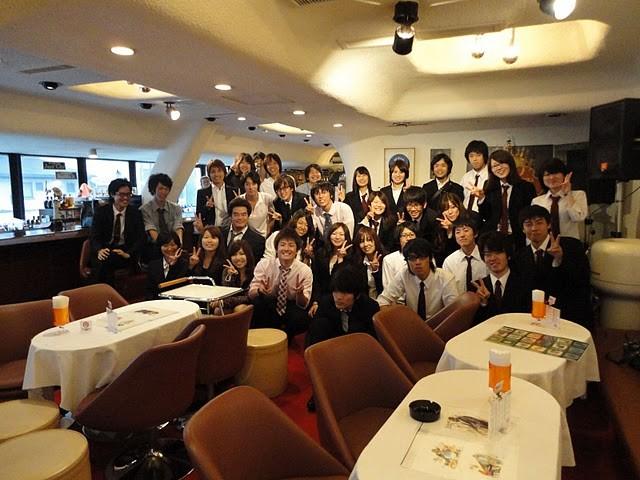 立命&甲南で記念撮影!楽しい対バンをありがとう!ヤマノで会いましょう!
