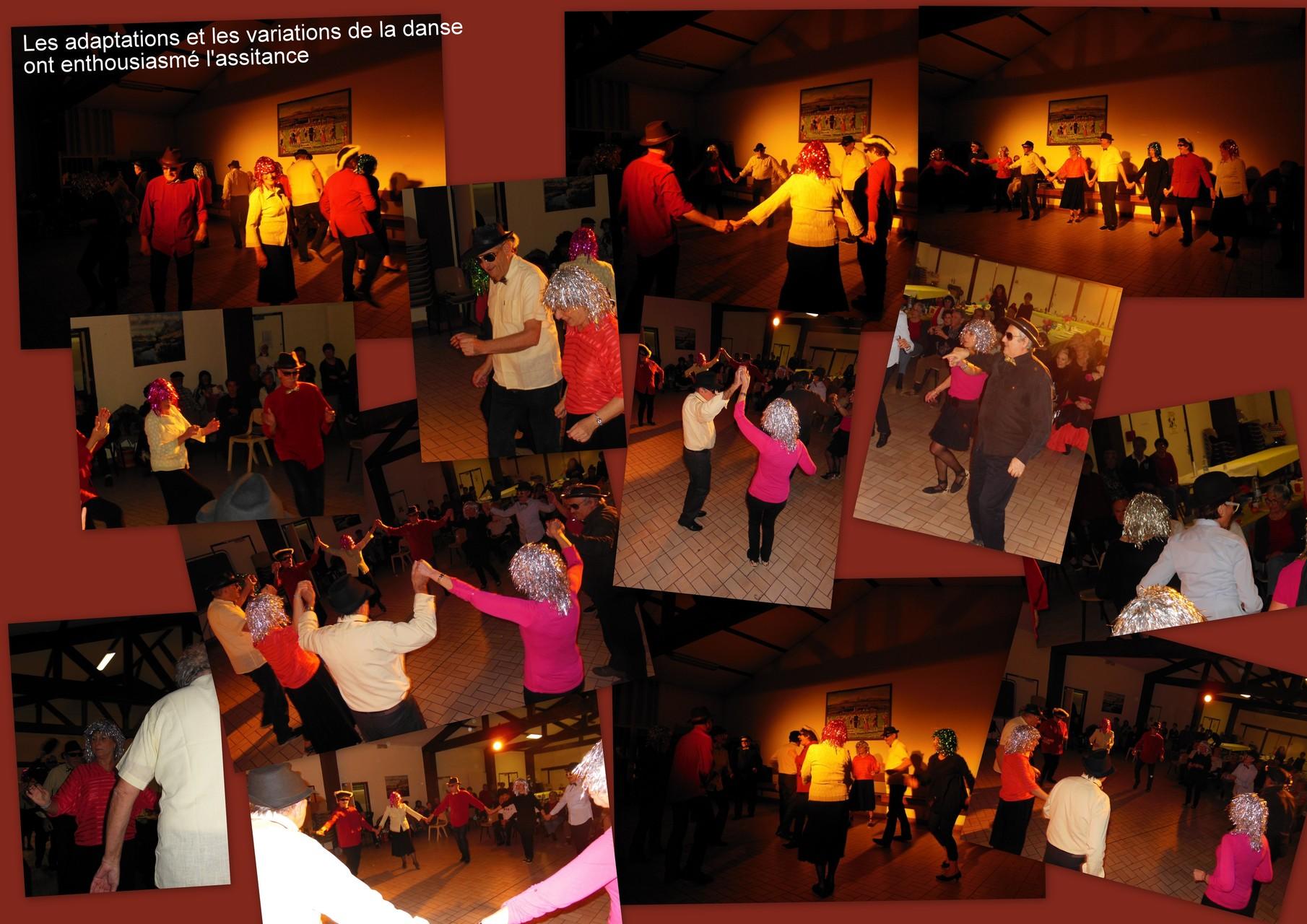 Les déclinaisons originales de la danse ont été chaudement applaudies et bissées