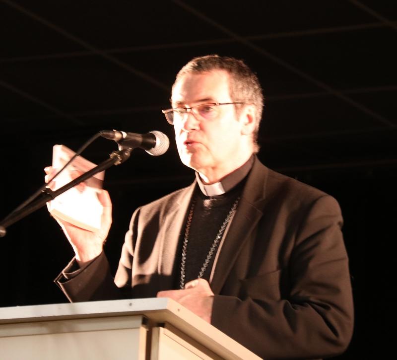 présentation de l'encyclique Laudato Si, du pape François, par Mgr Habert