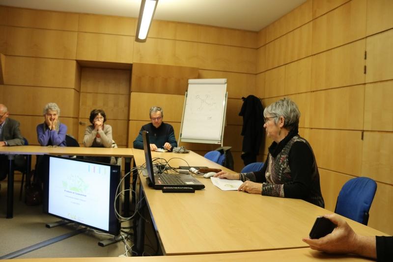 rencontre avec des élus de la Communauté urbaine d'Alençon...