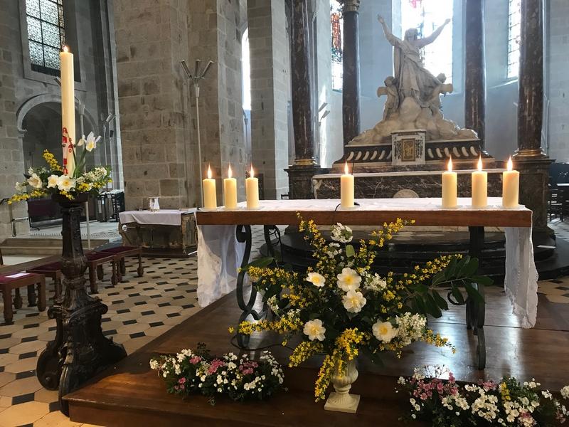 L'autel illuminé