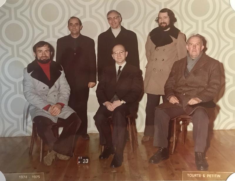 souvenirs, souvenirs de l'année 1974-1975