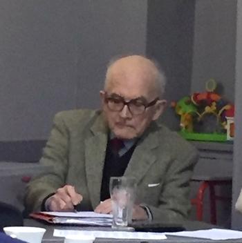 Père Claude Boitard, membre du bureau.