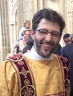 Mehdi Riffi ordonné diacre le 6 octobre 2019 à la basilique d'Alençon