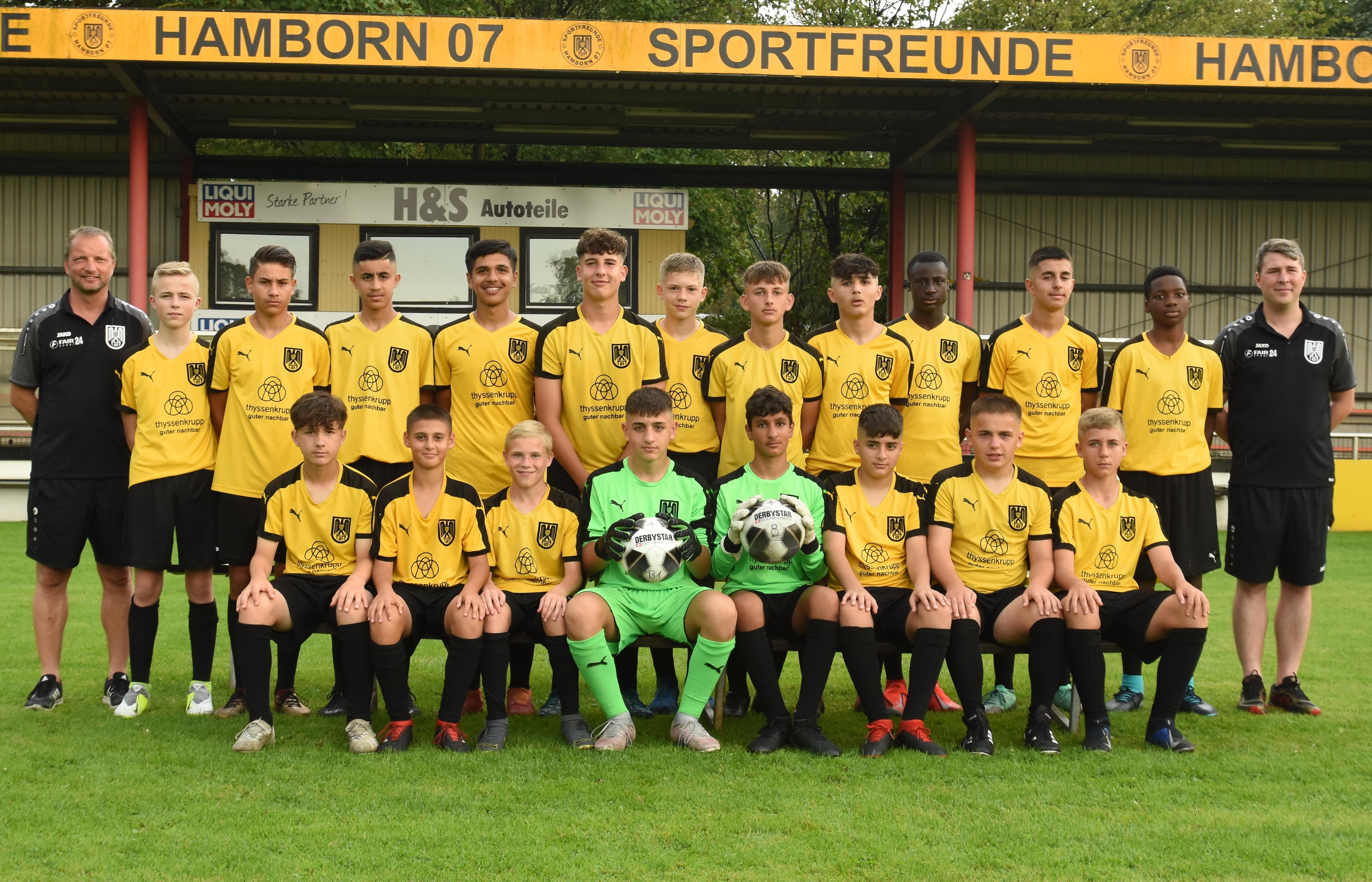 Herzlich willkommen - U15 SF Hamborn 07 Saison 2016/2017