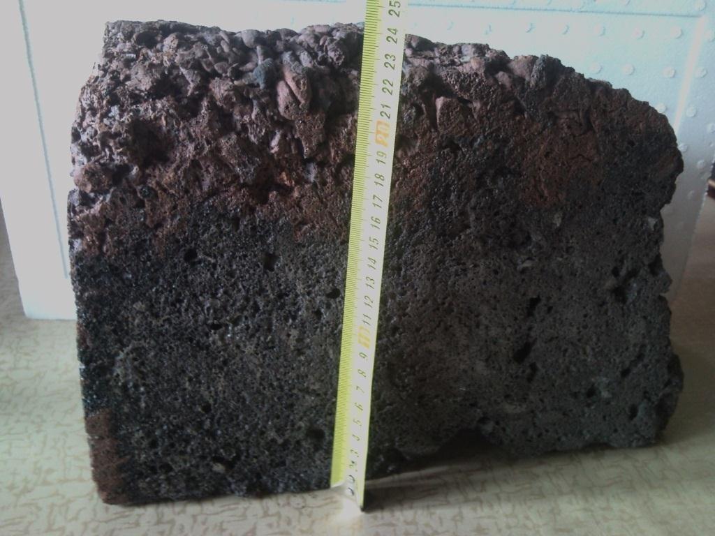 Образец - Элемент блока из КВАРИТА размером 24х40см.