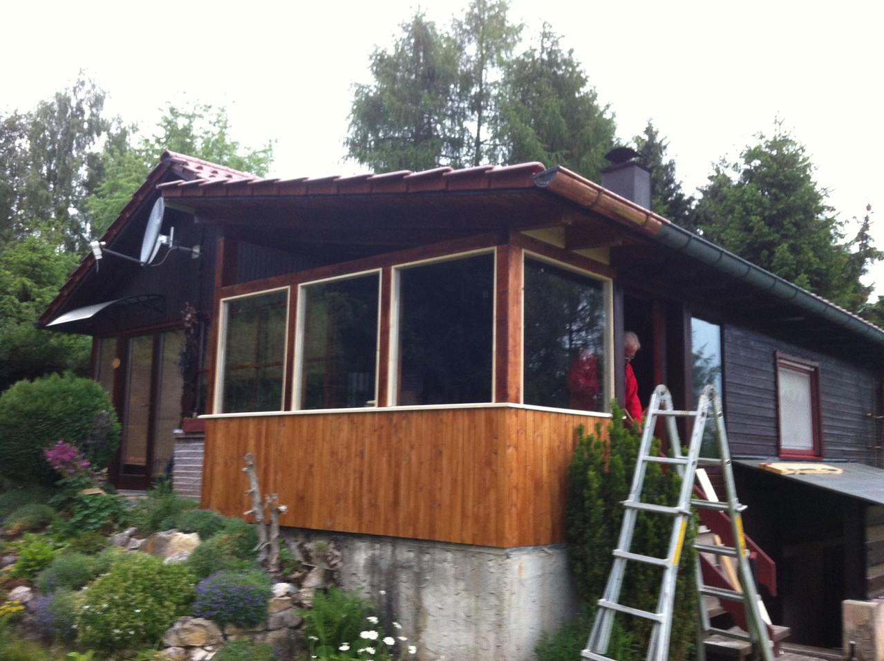 Spezialanfertigung Terrassenanbau