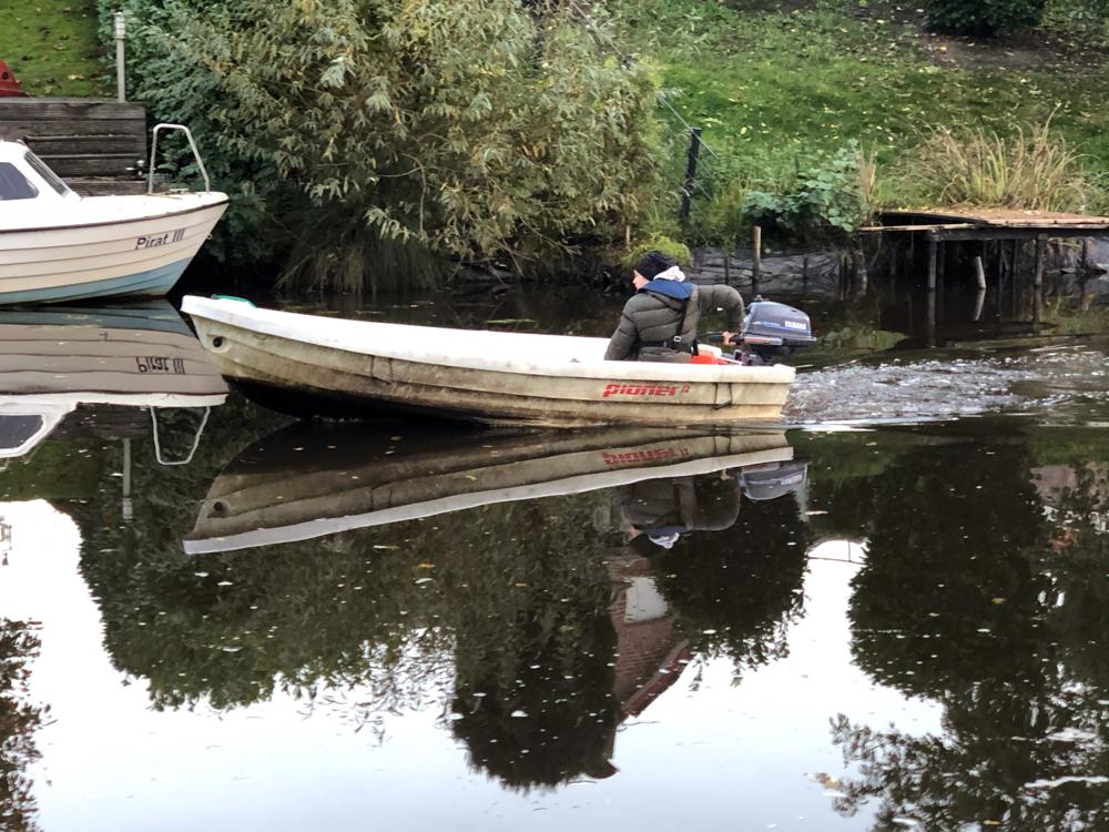 Das zum Haus gehörige Boot
