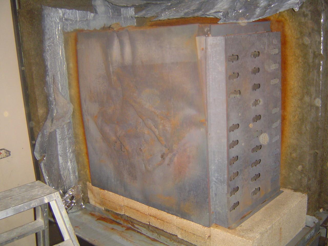 LINDENTHAL Umweltdienstleistungen: Block-Nachtspeicherofen (asbestfrei) mit KMF- Isolierung