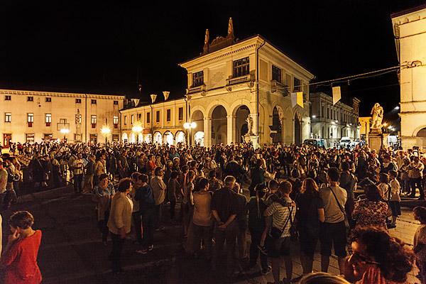 Palmanova Piazza grande La Loggi - foto Alessio Buldrin