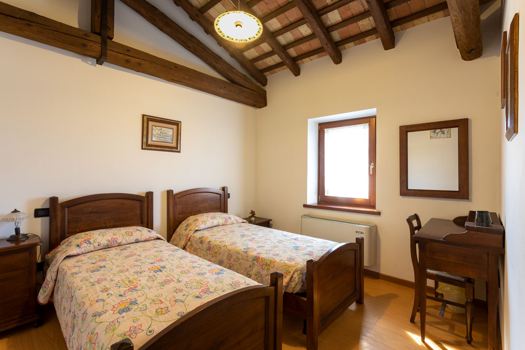 Agriturismo Il Picchio, camera letti separati