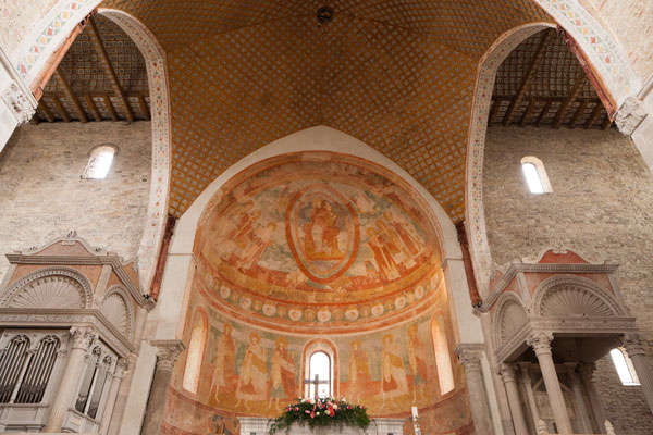 Aquileia la Basilica (interno) - foto Alessio Buldrin