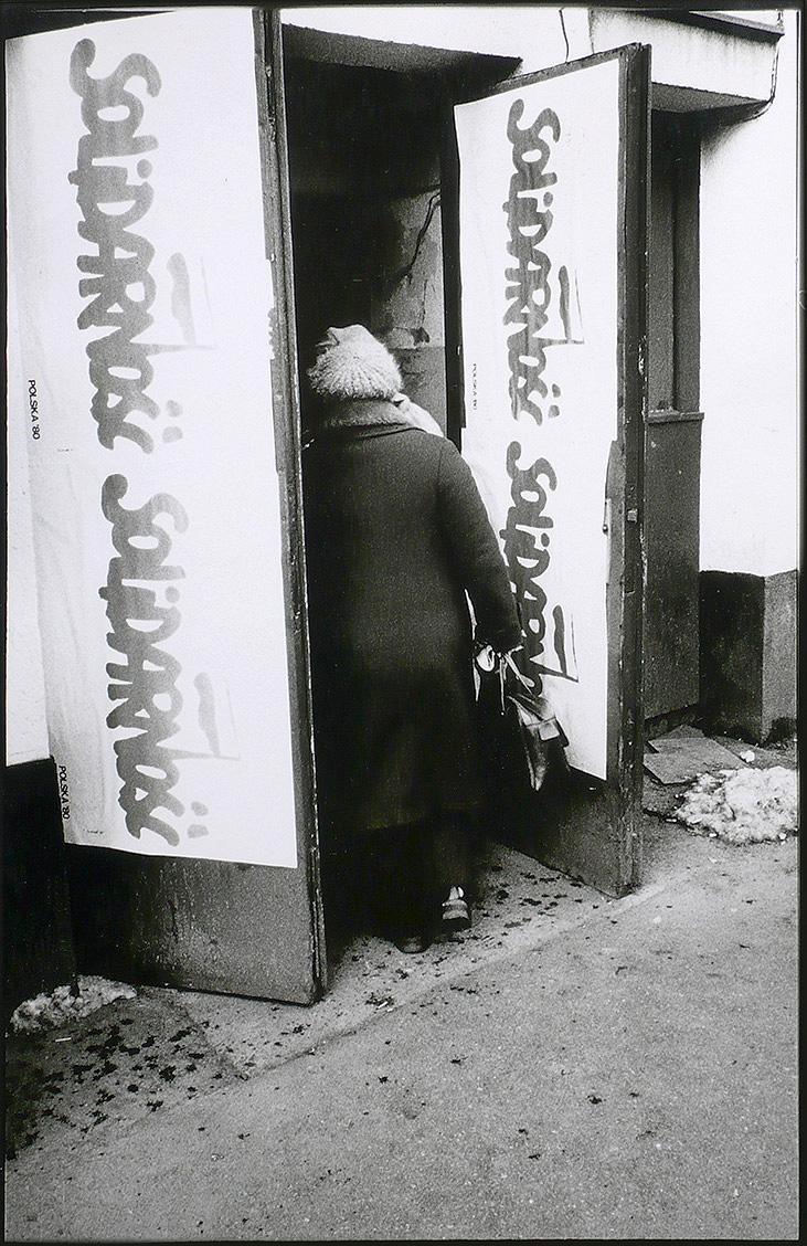 Eingang zur Solidarnosc- Zentrale in Gdansk