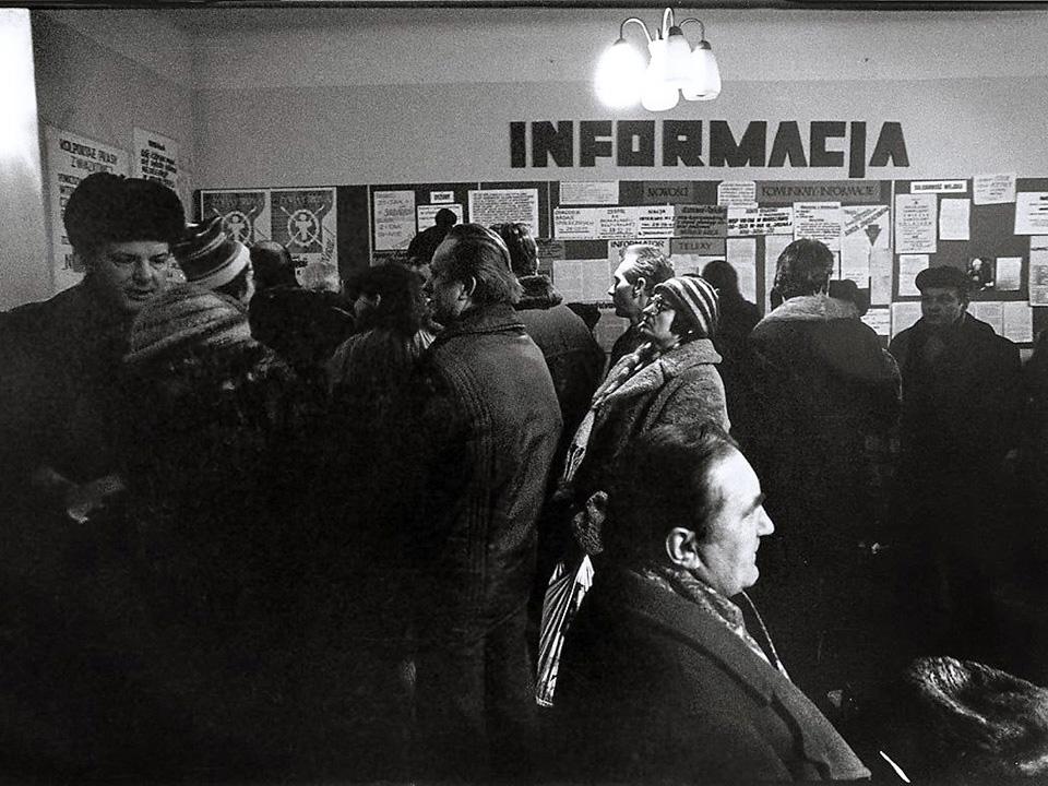 Solidarność- Zentrale in Krakow
