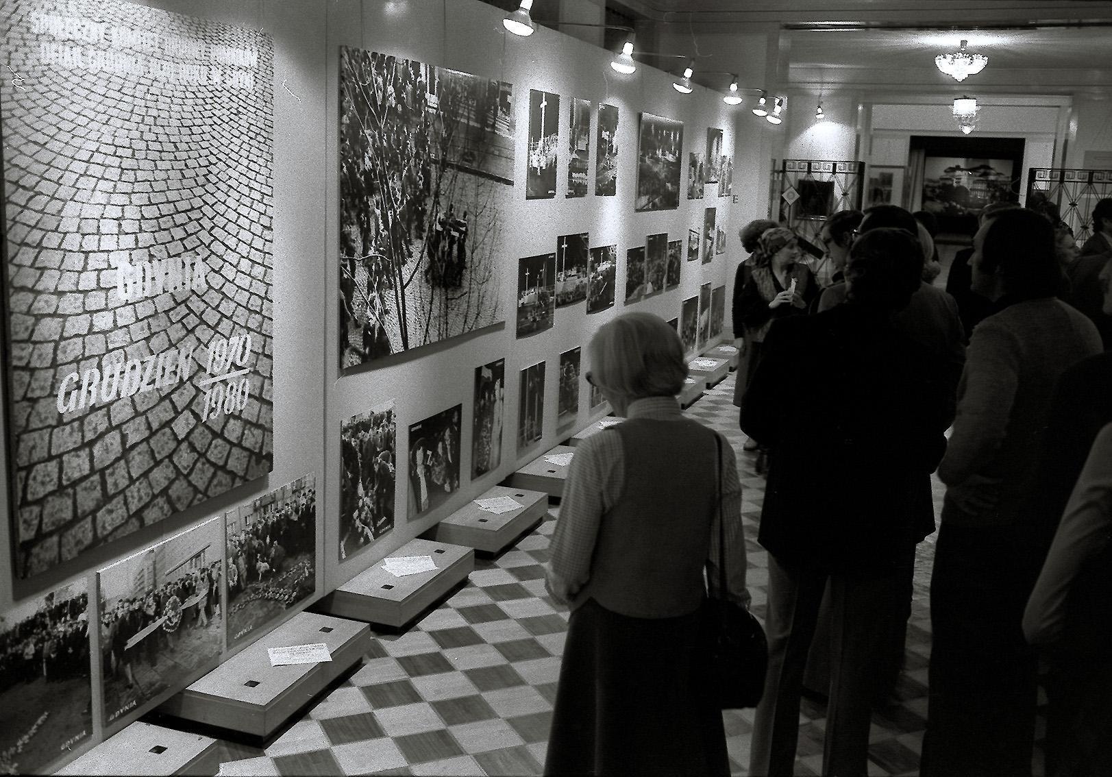 Die Ausstellung über die Geschichte der Solidarnosc