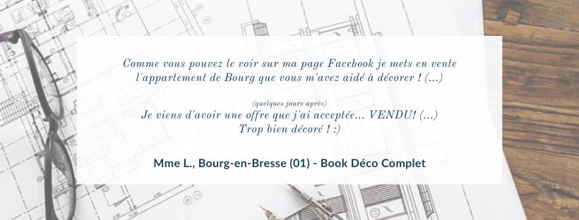 Avis client INSIDE Architecture Intérieur Décoratrice Oyonnax