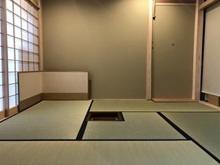 京間4畳半茶室