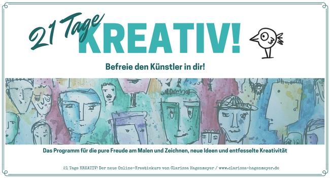 Lieber glücklich mit den Kreativkursen von Clarissa Hagenmeyer*