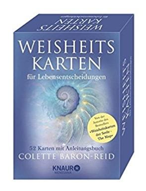 Weisheitskarten für Lebensentscheidungen von Colette Baron-Reid #Kartenset #Tarotkarten #tarot #Weisheit #Intuition #Spiritualität