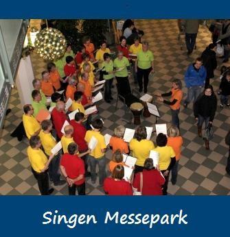 2010-12-22 Singen im Messepark