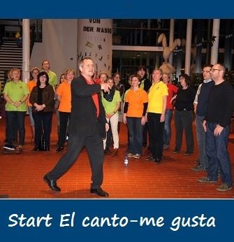 2014-03-13 Start Chorprojekt El canto - me gusta