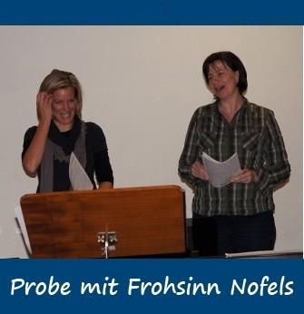 2011-10-25 Probe und Hock mit Frohsinn Nofels