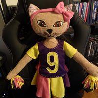 Ouette, mascotte personnelle d'une petite Zohra ...