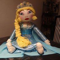 Elsa, reîne des Neiges, mascotte personnelle d'une petite Chiara ...