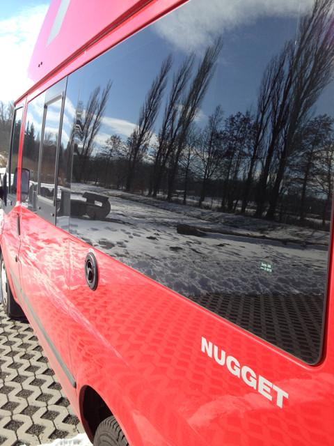 Elmo im Schnee in Alsfeld