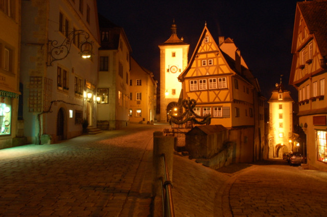 Traumhaft romantisches Rothenburg