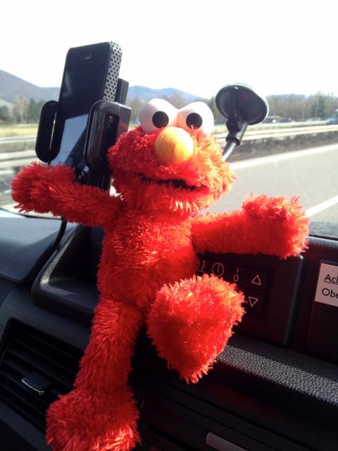 Hey, ich bin Elmo