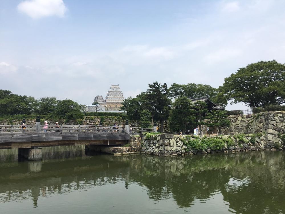 Die weiße Burg in Himeji