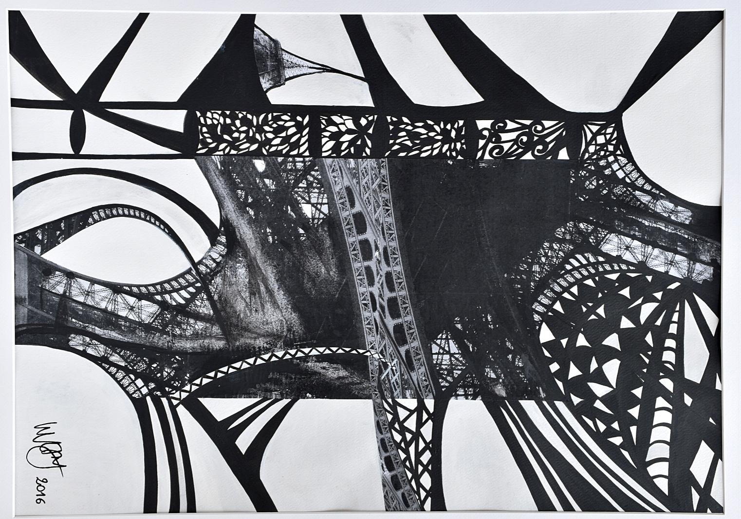 LE GRAND PARIS - Techniques mixtes - Maud WERY