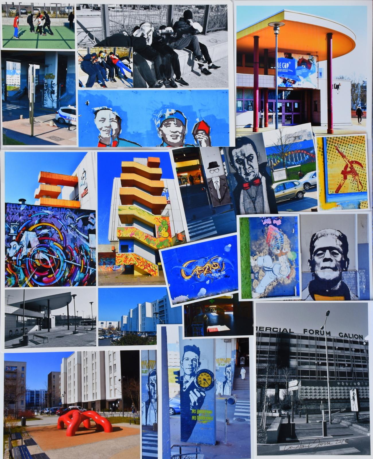 Les grafs postals- Montage photos - Constant JOSSE