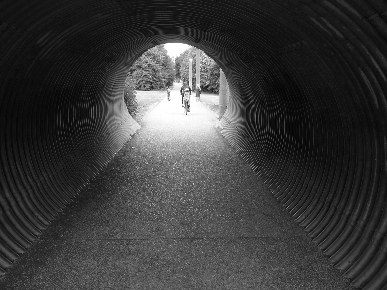 Le bout du tunnel - Photo - Constant JOSSE