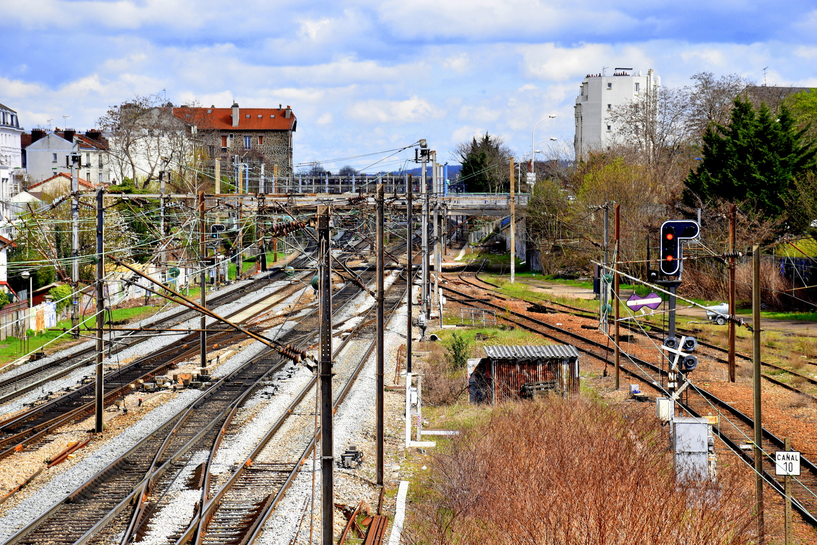 Impression sur voies ferrées - Photo - Constant JOSSE