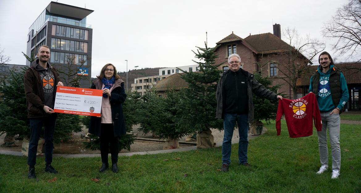 Wir spenden mit Basketball Aid e.V. 1.200 € für krebskranke Kinder!