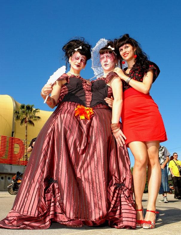 Costume Siamois pour les Breackett-Dolls & Azuka - 2013 // photo : T.Direxel