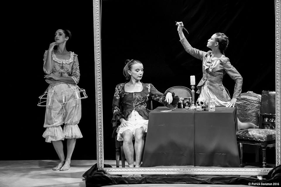Costumes de danse pour la Compagnie Murielle Bellin LPDLL  - 2016 // photo : M.Bellin