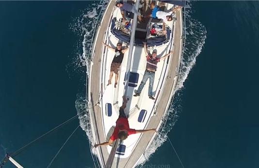 alquiler de barco de vela con patrón Tarifa