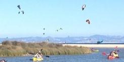 alquiler de kayak playa de Tarifa