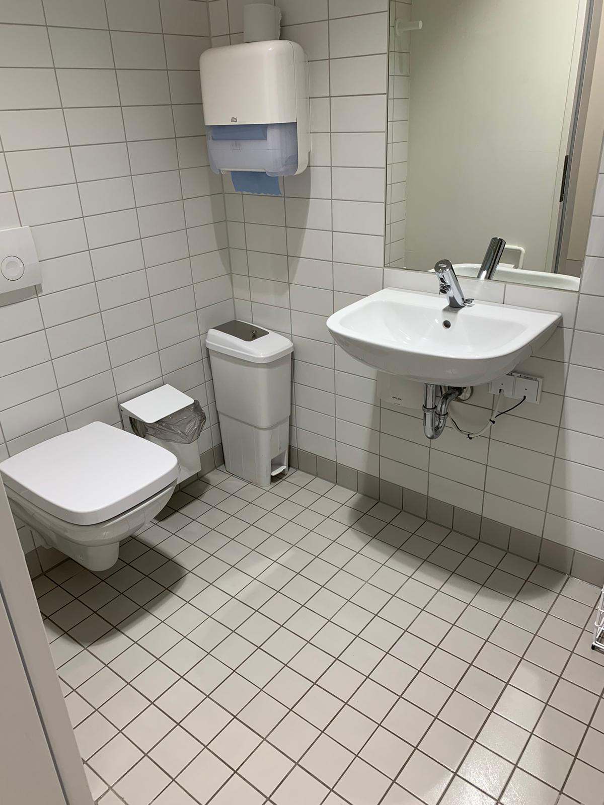 Kristall-Reinigungsservice gereinigtes Badezimmer