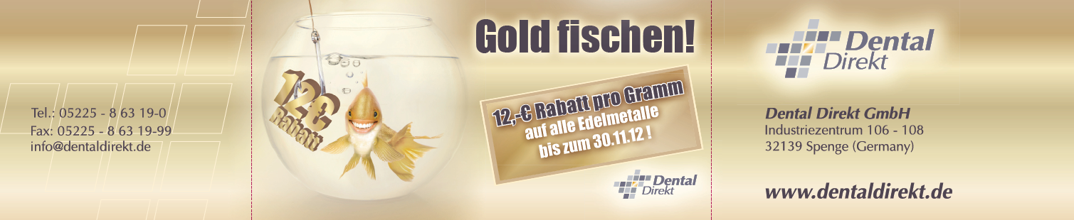 Magazin-Banderole Goldaktion