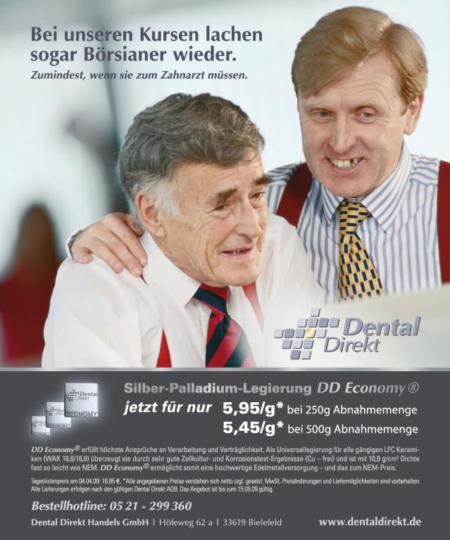 Produktanzeige – Dental Direkt EDELMETALLE