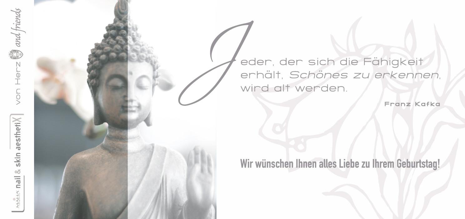 Kundengeburtstagskarte – nail & skin | von Herz and friends Bielefeld