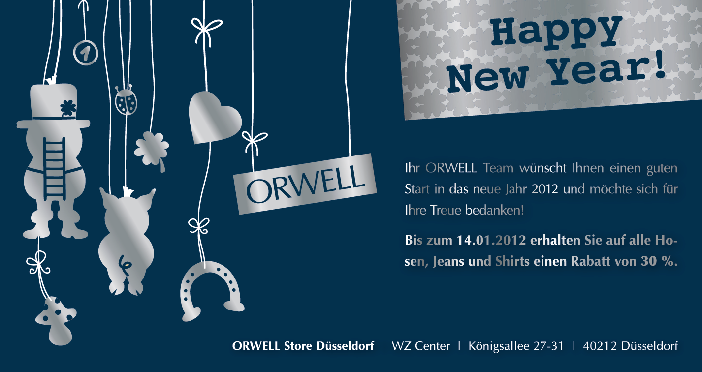 ORWELL – Silvestermailing