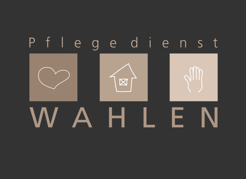 Corporate Design – Pflegedienst Wahlen