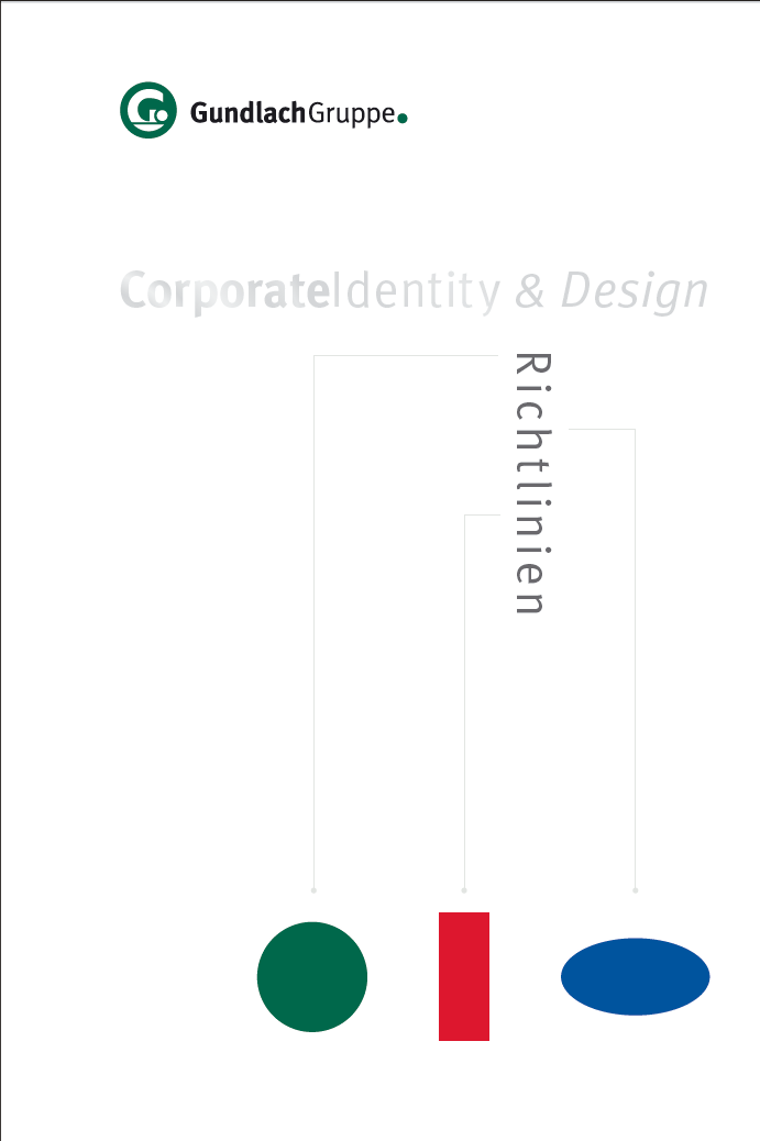 Corporate Design Book – Gundlach Gruppe
