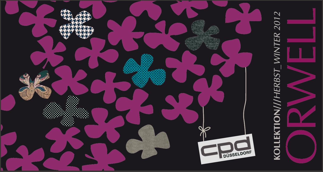 ORWELL – Entwürfe Flyer CPD Messe